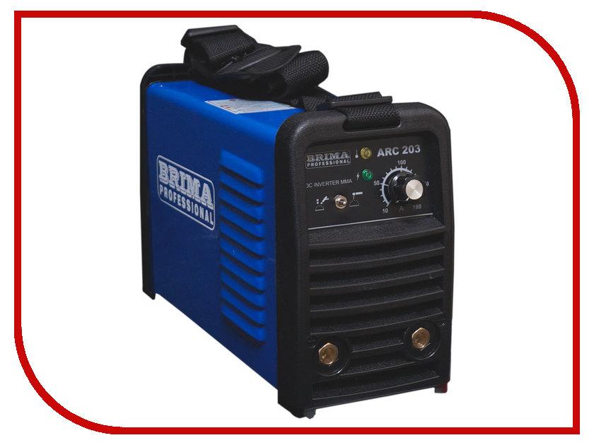 Сварочный аппарат BRIMA ARC 203 сварочный аппарат сварог arc 250 r112