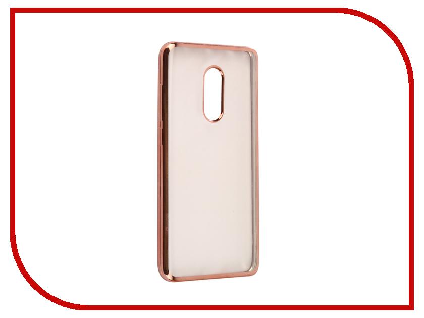 Аксессуар Чехол Xiaomi Redmi Note 4/4 Pro Svekla Flash Silicone Pink Frame SVF-XIREDN4-PINK