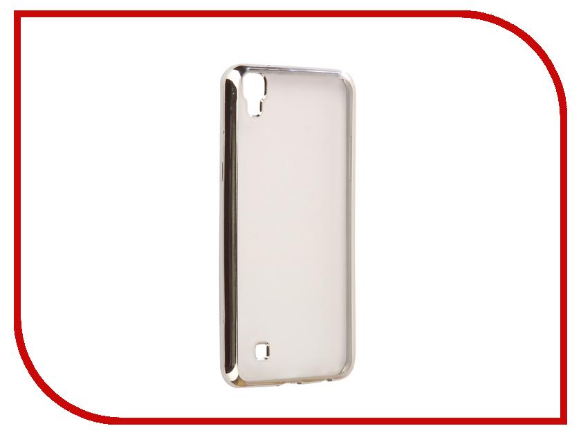 Аксессуар Чехол LG X Power K220DS Svekla Flash Silicone Silver Frame SVF-LGXPOWER-SIL аксессуар чехол samsung galaxy a5 2017 a520f svekla flash silicone silver frame svf sga520f sil