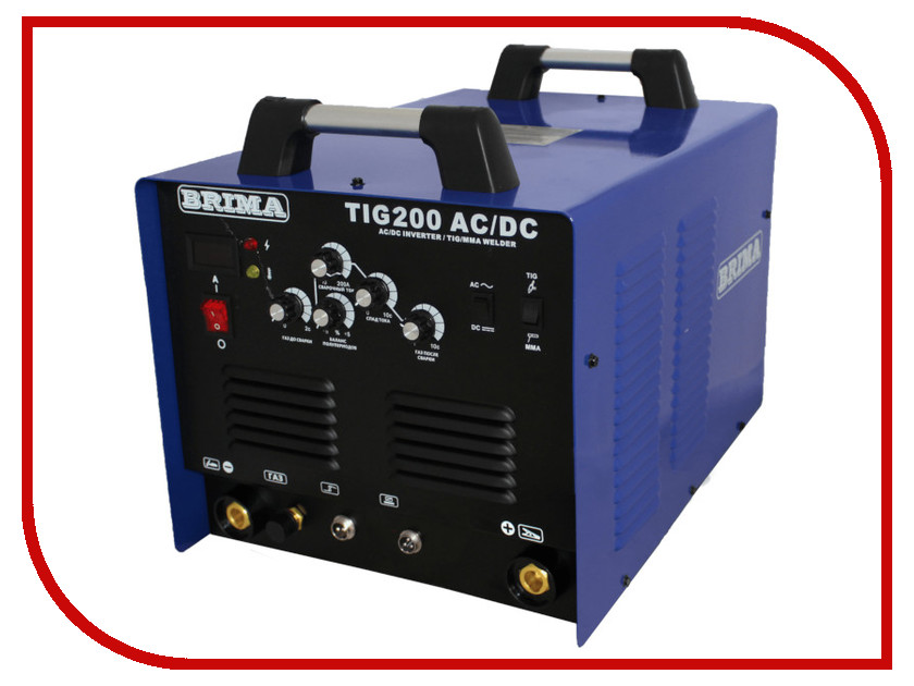 цена на Сварочный аппарат BRIMA TIG 200 AC/DC