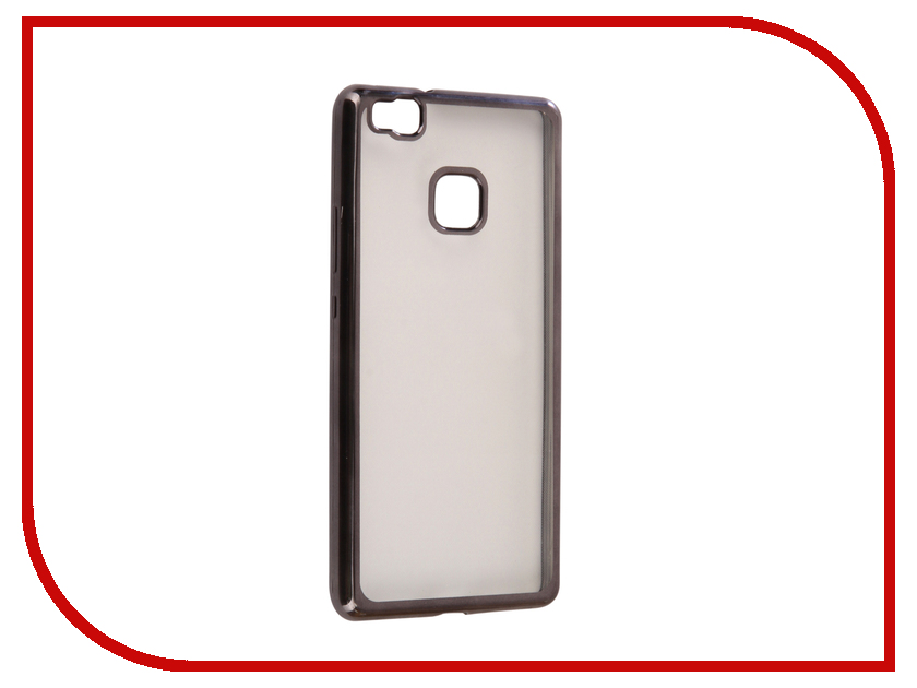 Аксессуар Чехол Huawei P9 Lite Svekla Flash Silicone Black Frame SVF-HWP9LITE-BL аксессуар чехол xiaomi mi a1 svekla flash silicone black frame svf ximia1 bl