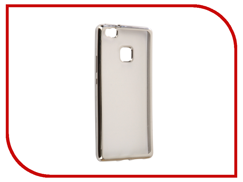 Аксессуар Чехол Huawei P9 Lite Svekla Flash Silicone Silver Frame SVF-HWP9LITE-SIL аксессуар чехол samsung galaxy a5 2017 a520f svekla flash silicone silver frame svf sga520f sil