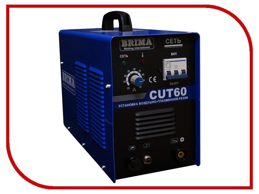 Инвертор для плазменной резки BRIMA CUT 60 инвертор для плазменной резки fubag plasma 40 с плазменной горелкой fb p40