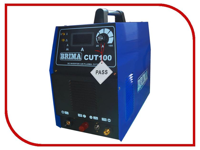 Инвертор для плазменной резки BRIMA CUT 100 инвертор для плазменной резки fubag plasma 40 с плазменной горелкой fb p40