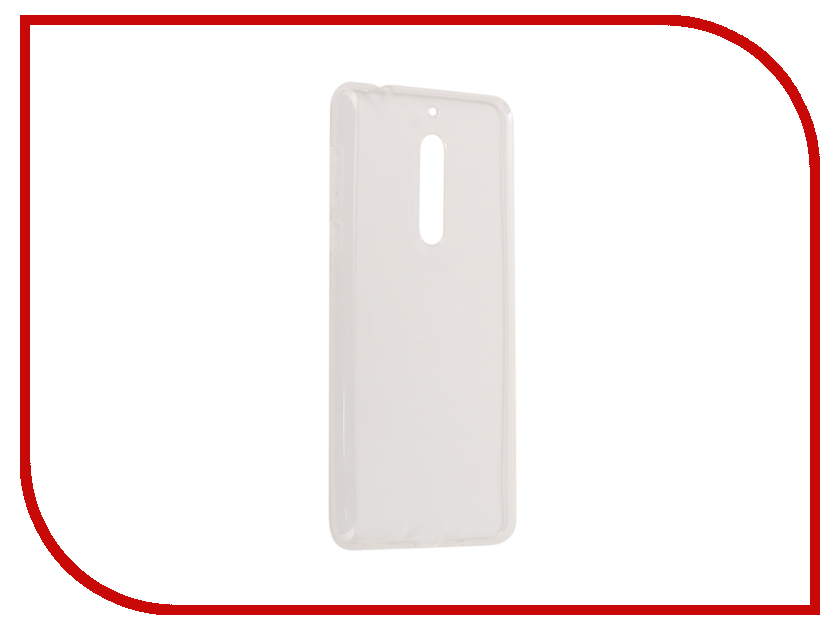 Аксессуар Чехол Nokia 5 Zibelino Ultra Thin Case White ZUTC-NOK-5-WHT