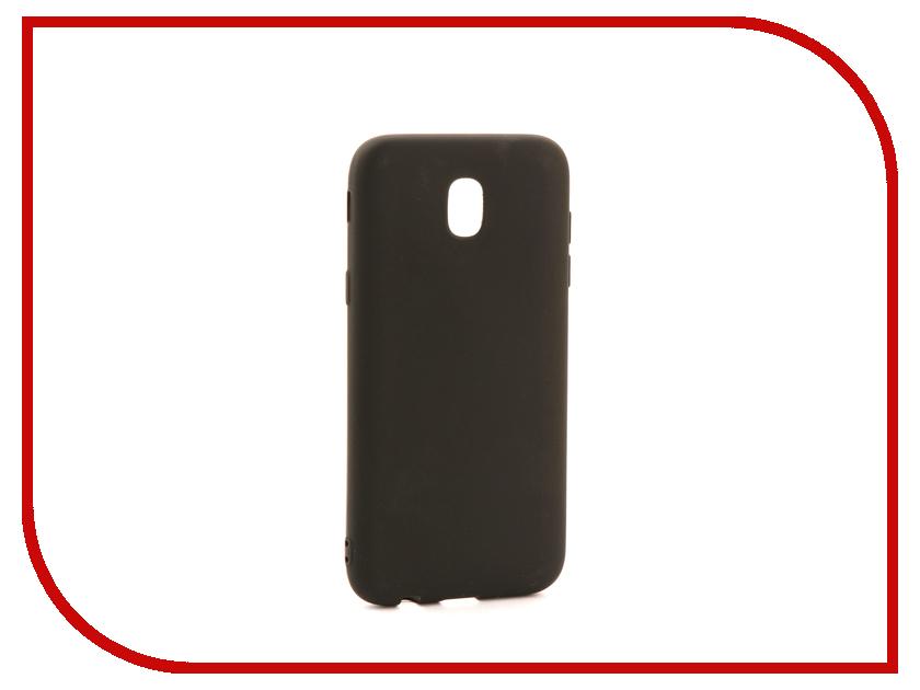 Аксессуар Чехол Samsung J530 Galaxy J5 2017 Zibelino Soft Matte Black ZSM-SAM-J530-BLK аксессуар чехол lenovo k10 vibe c2 k10a40 zibelino classico black zcl len k10a40 blk