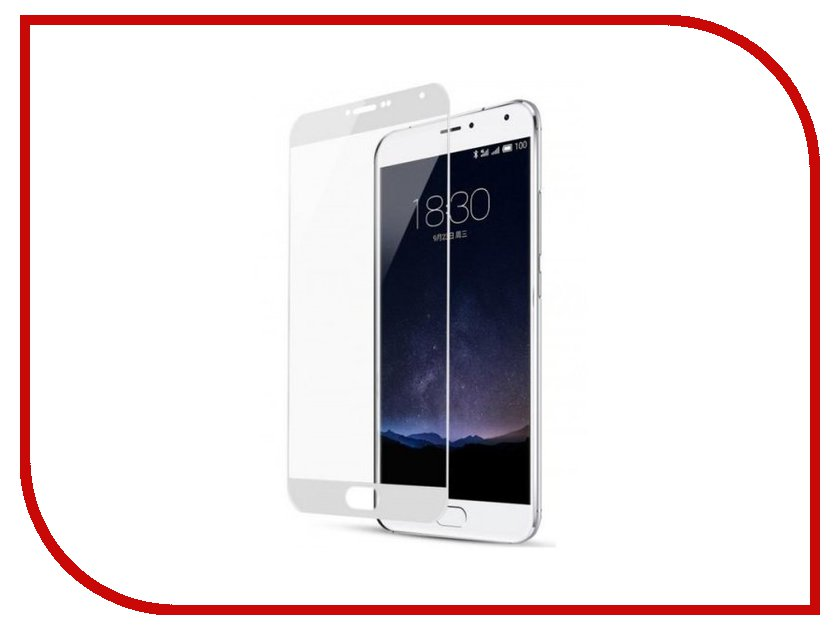 Аксессуар Защитное стекло Meizu M6 Note Zibelino TG Full Screen 0.33mm 2.5D White ZTG-FS-MEI-M6-NOT-WHT аксессуар защитное стекло samsung galaxy note 8 zibelino tg 4d 0 33mm white ztg 4d sam not8 wht