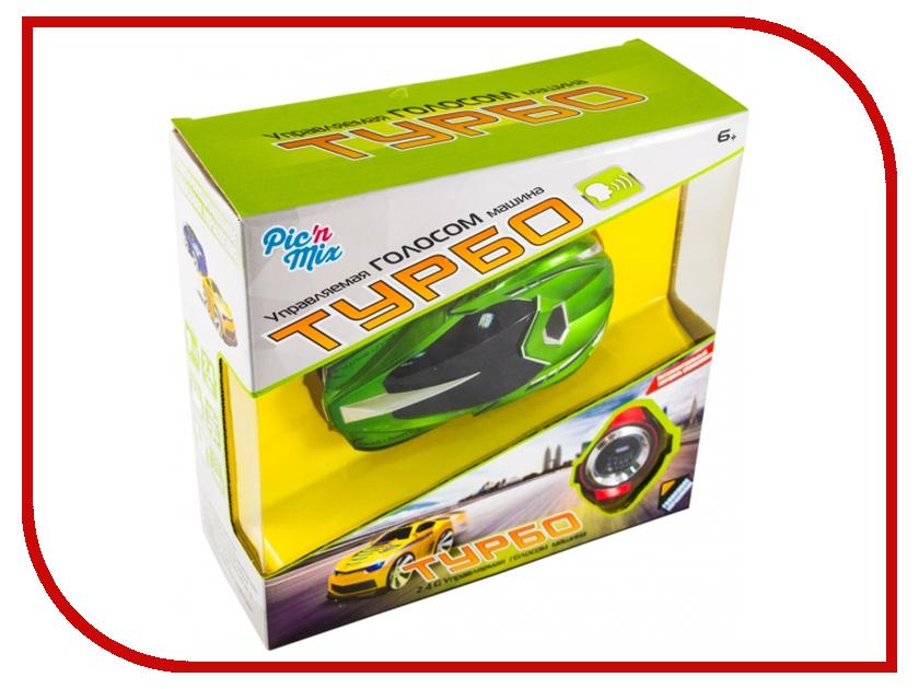 Машина Pic N Mix Турбо Green 127004 набор шьем пенал турбо турбо