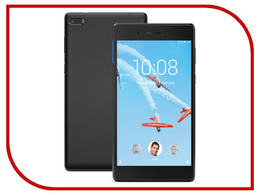 Планшет Lenovo Tab 4 TB-7304F ZA300009RU (MediaTek MT8167D 1.3 GHz/1024Mb/8Gb/GPS/Wi-Fi/Bluetooth/Cam/7.0/1024x600/Android) lenovo a6010 8gb