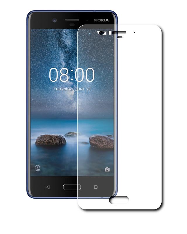 Аксессуар Защитная пленка LuxCase для Nokia 8 Суперпрозрачная 80478