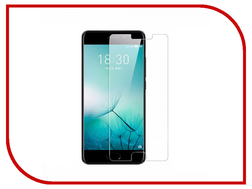 Аксессуар Защитная пленка Meizu Pro 7 Plus LuxCase Суперпрозрачная 54896 защитная пленка для highscreen easy s pro глянцевая