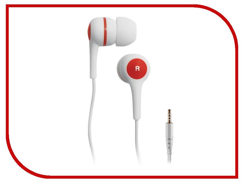 Наушники BBK EP-1260S White-Red проводные наушники bbk ep 1401s white