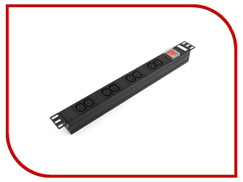Сетевой фильтр Gembird 1 Socket С14 8 Sockets C13 EHB8-4 сетевой фильтр power cube 6 socket 1 9m gray