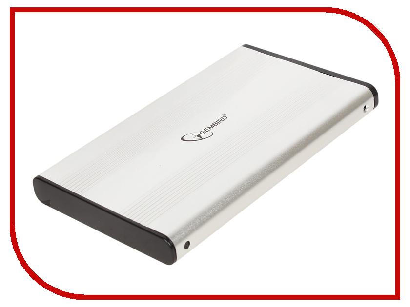 Аксессуар Внешний корпус для HDD Gembird EE2-U2S-5-S USB 2.0 Silver аксессуар gembird ee2 u3s 2 r usb 3 0 red