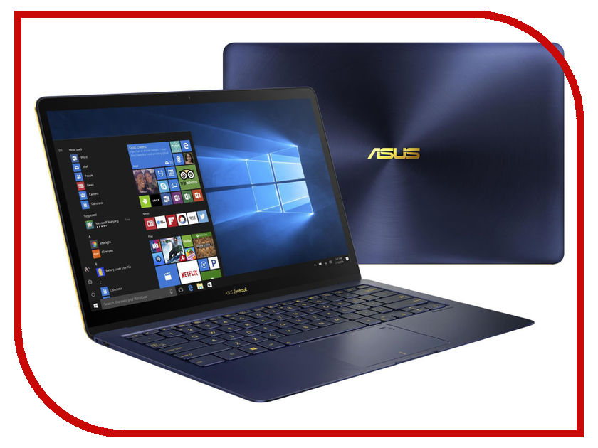 Ноутбук ASUS Zenbook 3 Deluxe UX490UA-BE082R 90NB0EI1-M05080 (Intel Core i7-8550U 1.8 GHz/16384Mb/1000Gb SSD/No ODD/Intel HD Graphics/Wi-Fi/Bluetooth/Cam/14.0/1920x1080/Windows 10 64-bit) стоимость