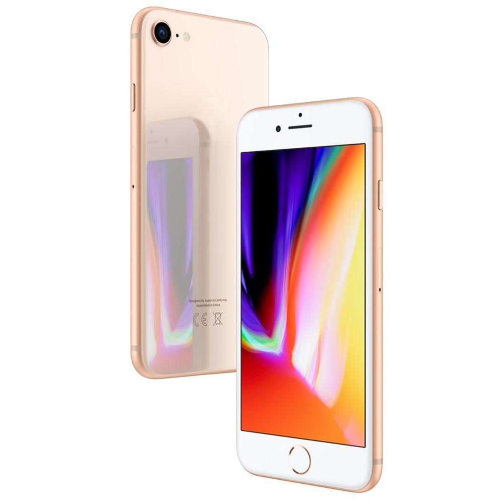 Сотовый телефон APPLE iPhone 8 - 64Gb Gold MQ6J2RU/A Выгодный набор + серт. 200Р!!! сотовый