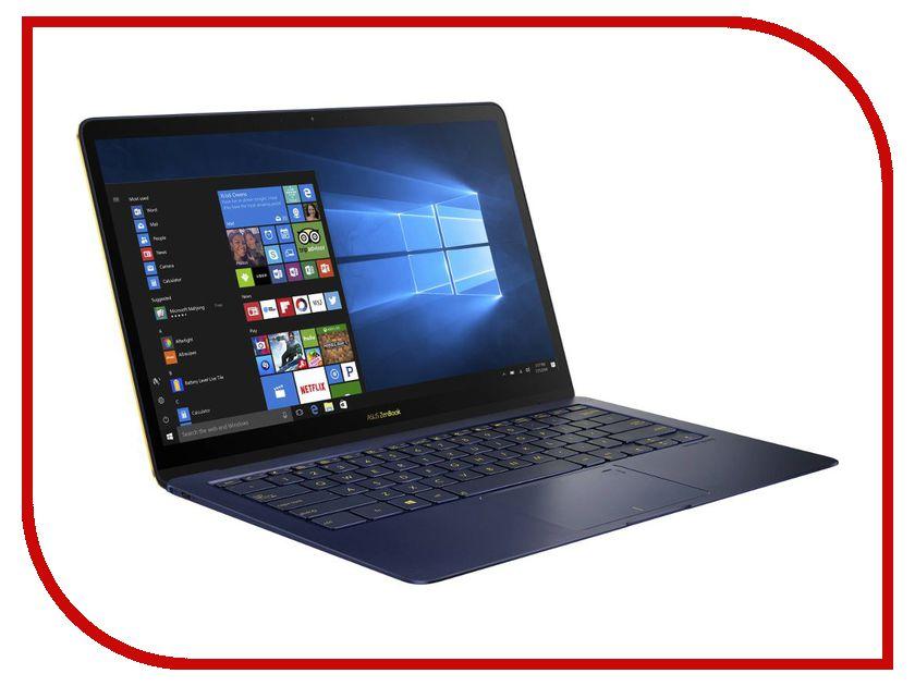Ноутбук ASUS Zenbook 3 Deluxe UX490UA-BE107R 90NB0EI1-M05090 (Intel Core i7-8550U 1.8 GHz/8192Mb/512Gb SSD/No ODD/Intel HD Graphics/Wi-Fi/Bluetooth/Cam/14.0/1920x1080/Windows 10 64-bit) ноутбук dell xps 13 9365 4429 intel core i5 7y54 1 2 ghz 8192mb 256gb ssd no odd intel hd graphics wi fi bluetooth cam 13 3 3200x1800 touchscreen windows 10 64 bit