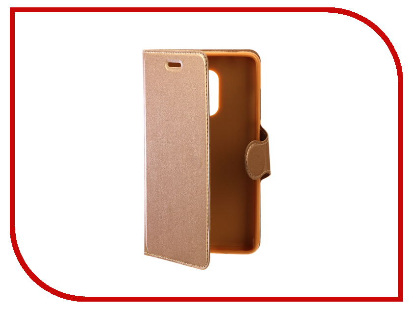 Аксессуар Чехол Xiaomi Redmi Note 4X Red Line Book Type Gold аксессуар чехол xiaomi redmi note 4 red line book type gold