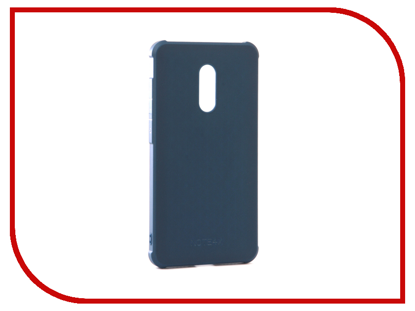 Аксессуар Чехол Xiaomi Redmi Note 4X Red Line Extreme Blue аксессуар чехол xiaomi redmi note 4 red line book type gold