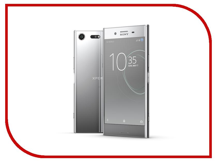Сотовый телефон Sony G8142 Xperia XZ Premium Silver чехол защитный skinbox sony xperia xz xperia xz dual