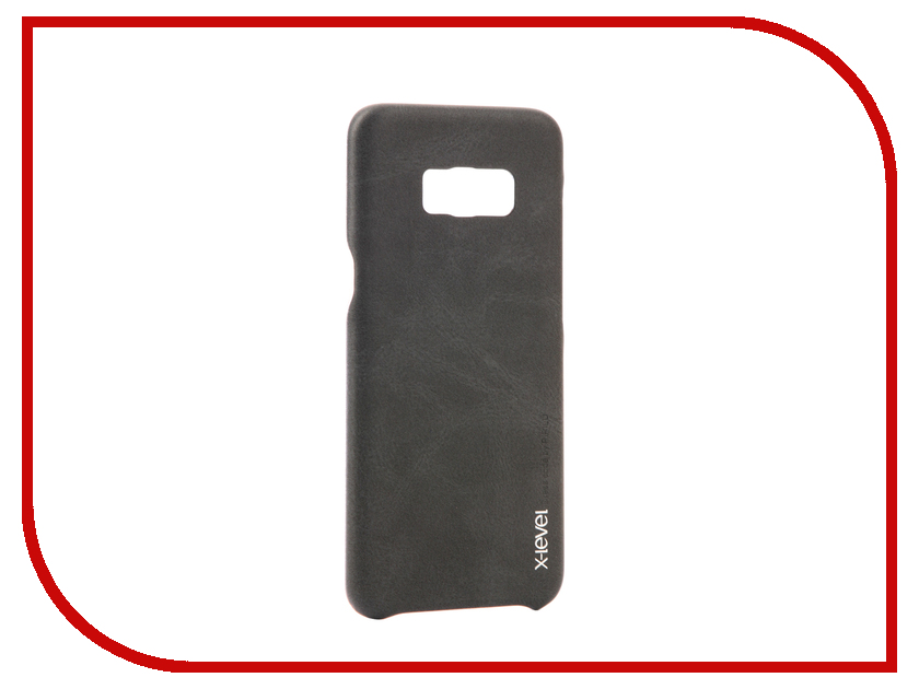 Аксессуар Чехол Samsung Galaxy S8 Plus X-Level Vintage Black 15444 аксессуар чехол samsung galaxy s7 edge g935f x level vintage beige 15440