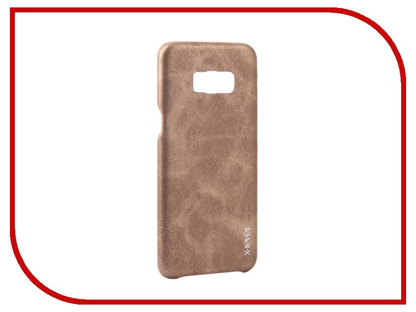 Аксессуар Чехол Samsung Galaxy S8 Plus X-Level Vintage Beige 15443 аксессуар чехол samsung galaxy s7 edge g935f x level vintage beige 15440