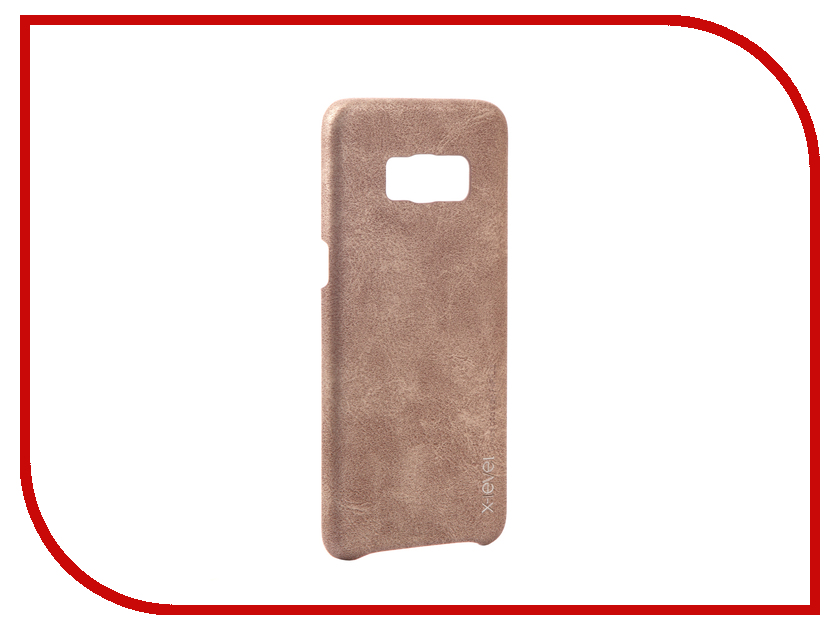 Аксессуар Чехол Samsung Galaxy S8 X-Level Vintage Beige 15445 аксессуар чехол samsung galaxy s7 edge g935f x level vintage beige 15440