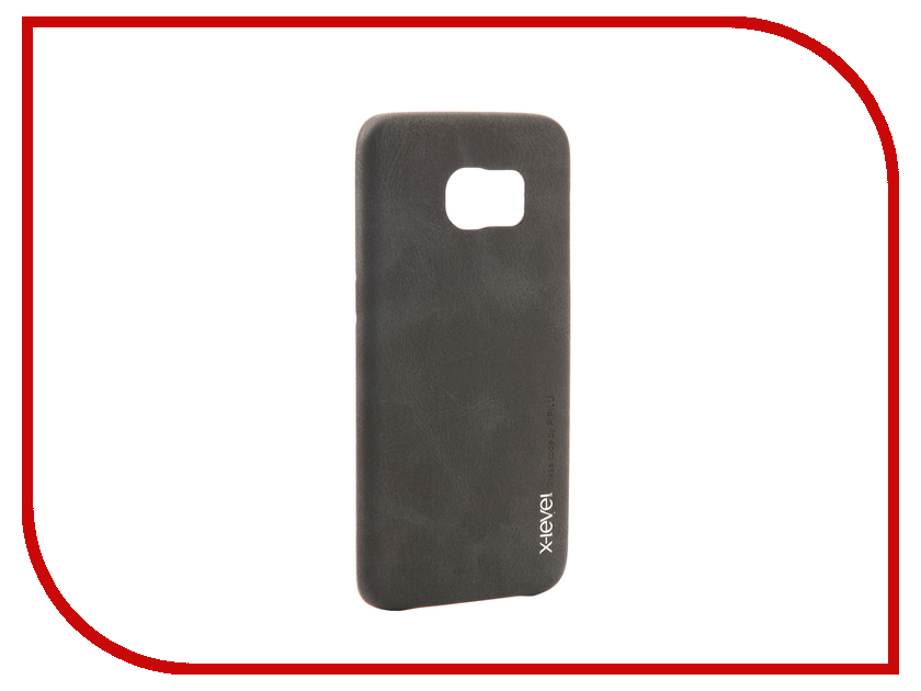 Аксессуар Чехол Samsung Galaxy S7 Edge G935F X-Level Vintage Black 15442 аксессуар чехол samsung galaxy s7 edge g935f x level vintage beige 15440