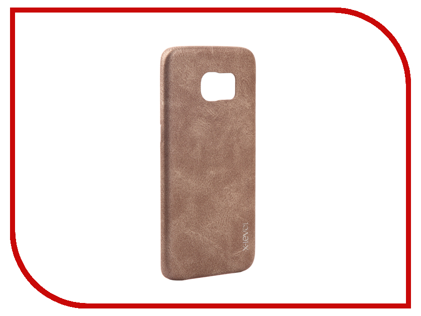 Фото Аксессуар Чехол Samsung Galaxy S7 Edge G935F X-Level Vintage Beige 15440