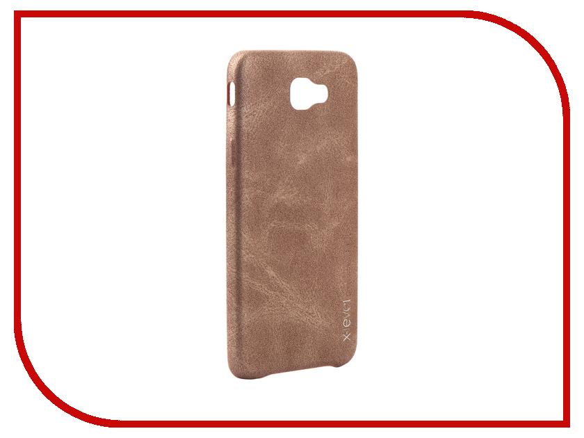 Аксессуар Чехол Samsung Galaxy J5 Prime X-Level Vintage Beige 15437 аксессуар чехол samsung galaxy s7 edge g935f x level vintage beige 15440