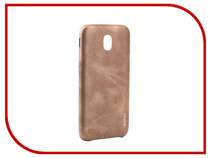 Аксессуар Чехол Samsung Galaxy J5 2017 X-Level Vintage Beige 15435 аксессуар чехол samsung galaxy s7 edge g935f x level vintage beige 15440