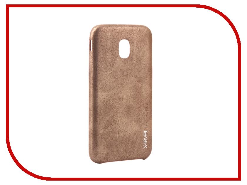 Аксессуар Чехол Samsung Galaxy J3 2017 X-Level Vintage Beige 15431 аксессуар чехол samsung galaxy s7 edge g935f x level vintage beige 15440