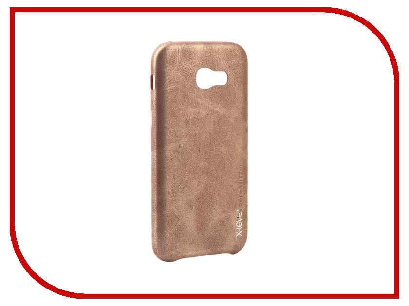 Аксессуар Чехол Samsung Galaxy A5 2017 X-Level Vintage Beige 15429 аксессуар чехол samsung galaxy s7 edge g935f x level vintage beige 15440