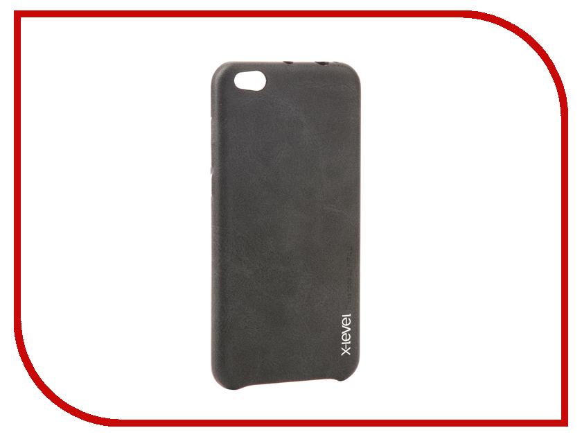 Аксессуар Чехол Xiaomi Mi5c X-Level Vintage Black 15447