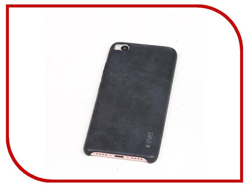 все цены на Аксессуар Чехол Xiaomi Mi5 X-Level Vintage Black 15446 онлайн