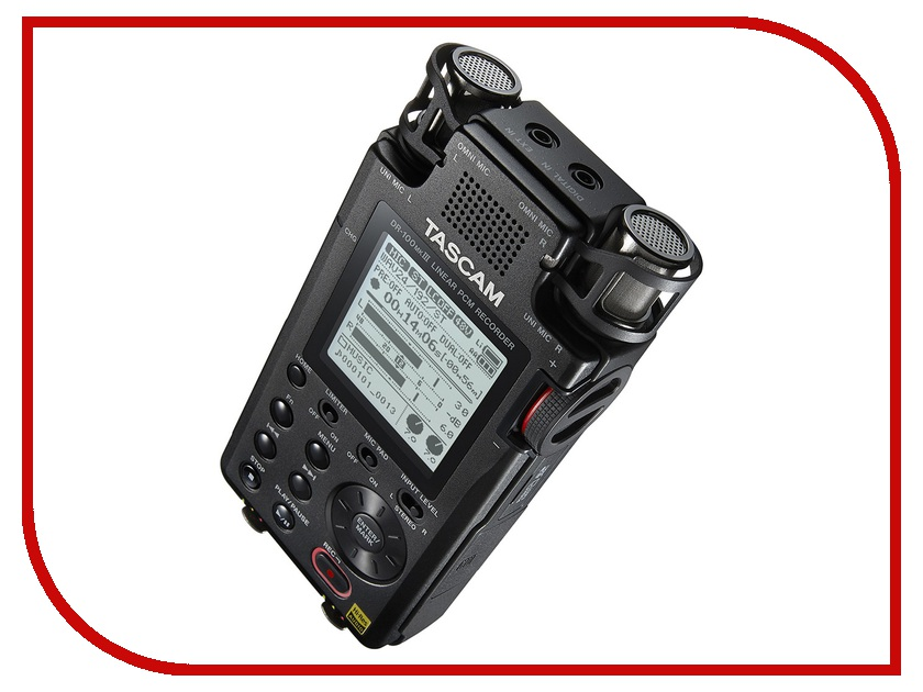 Диктофон Tascam DR-100mkIII md плеер tascam md cd1 md cd1mkiii mk3 md cd