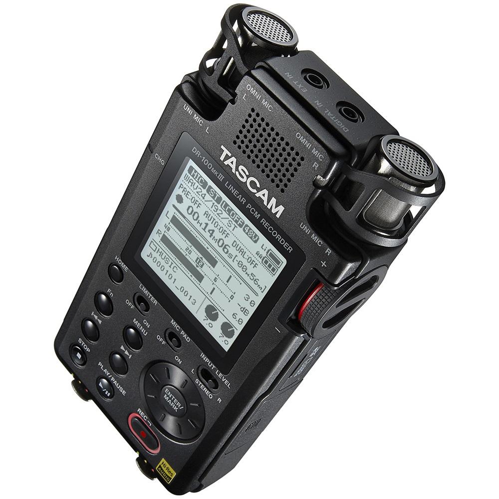 лучшая цена Диктофон Tascam DR-100mkIII