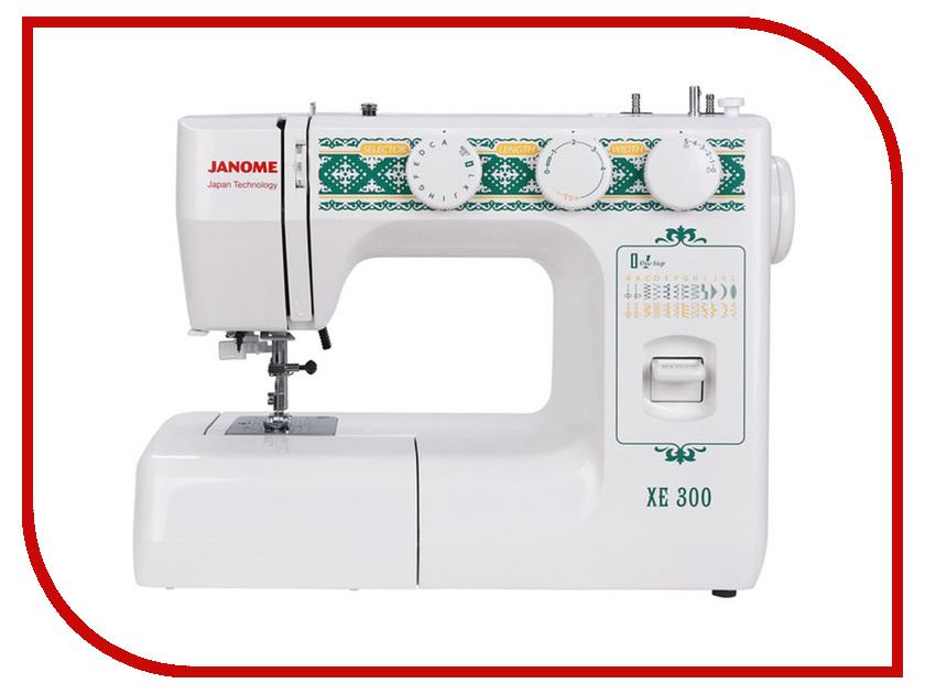 Швейная машинка Janome XE 300 швейная машинка astralux 7350 pro series вышивальный блок ems700