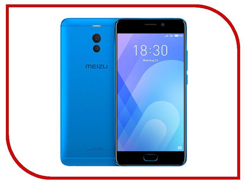 Сотовый телефон Сотовый телефон Meizu M6 Note 3/32GB Blue сотовый телефон meizu m5 note 32gb silver