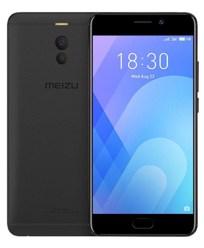 Сотовый телефон Сотовый телефон Meizu M6 Note 3/32GB Black сотовый телефон archos 40 neon black