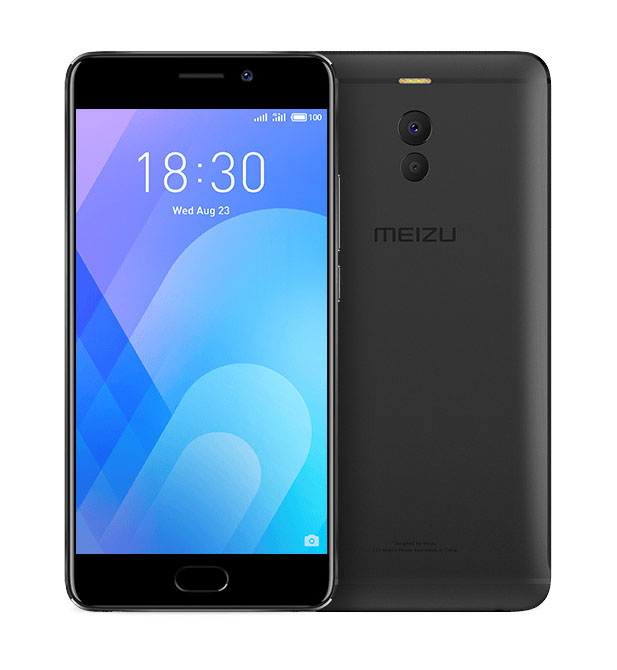 Сотовый телефон Meizu M6 Note 16Gb Black смартфон meizu m6 note 3 32gb black