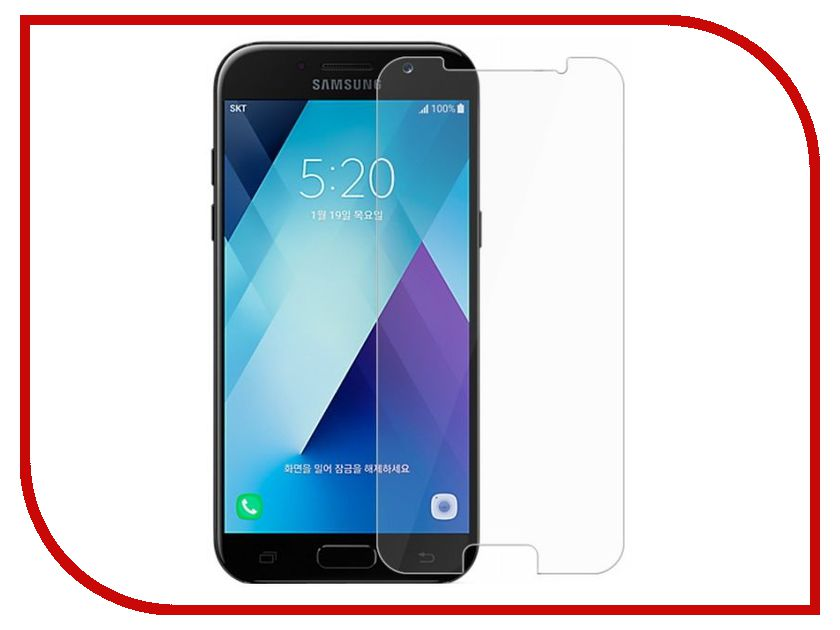 Аксессуар Защитное стекло Samsung Galaxy J3 2017 Dekken 2.5D 9H 0.26mm глянцевое 20408 kragen 9h отзывы