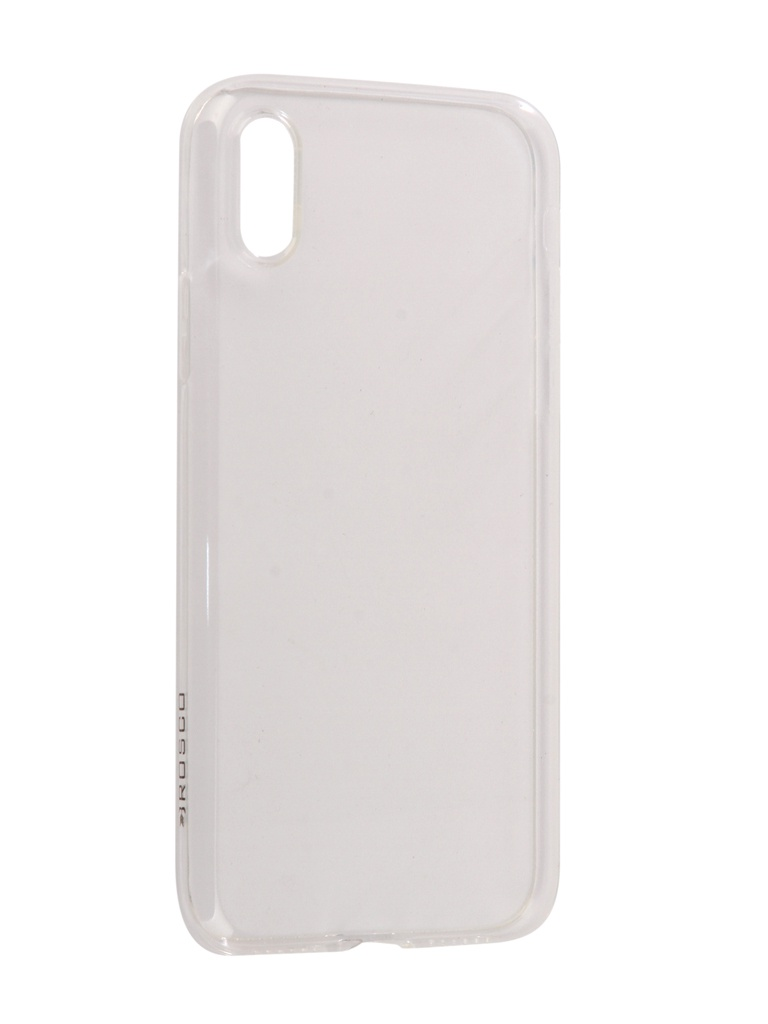 Аксессуар Чехол Brosco для APPLE iPhone X Silicone Transparent IPX-TPU-TRANSPARENT цена и фото