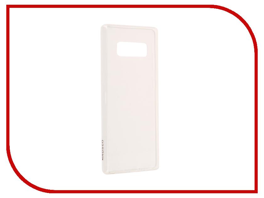 Аксессуар Чехол Samsung Galaxy Note 8 BROSCO Silicone Transparent SS-N8-TPU-TRANSPARENT аксессуар чехол samsung galaxy a5 2017 brosco silicone transparent ss a5 7 tpu transparent