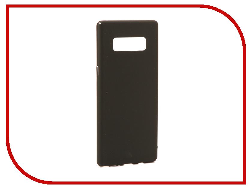 Аксессуар Чехол Samsung Galaxy Note 8 BROSCO Black SS-N8-4SIDE-ST-BLACK аксессуар deepcool n8 black