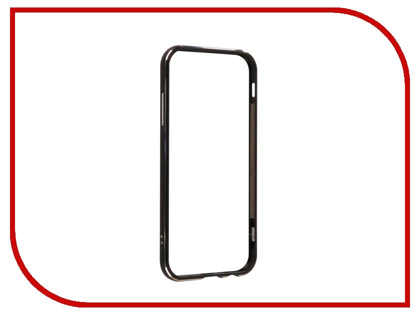 Аксессуар Чехол Samsung Galaxy A7 2017 BROSCO Metal Black SS-A7(7)-BMP-BLACK ip6 tpu bmp black