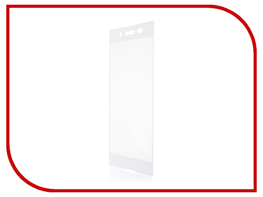 Аксессуар Защитное стекло Sony Xperia XA1 Ultra BROSCO 0.3mm White XA1U-3D-GLASS-WHITE аксессуар защитное стекло sony xperia xa1 ultra brosco full screen black xa1u fs glass black