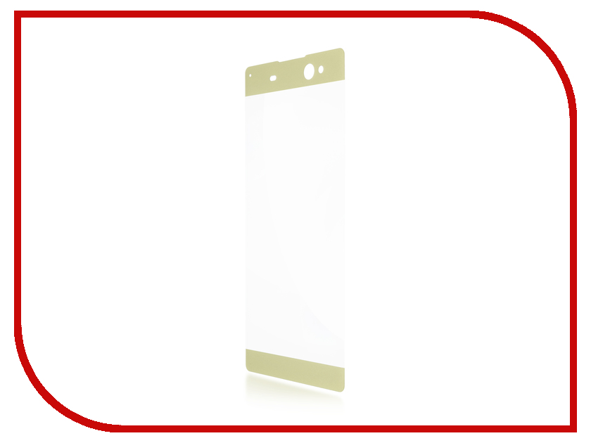 Аксессуар Защитное стекло Sony Xperia XA1 Ultra BROSCO 0.3mm Gold XA1U-3D-GLASS-GOLD аксессуар защитное стекло sony xperia xa1 ultra brosco full screen black xa1u fs glass black