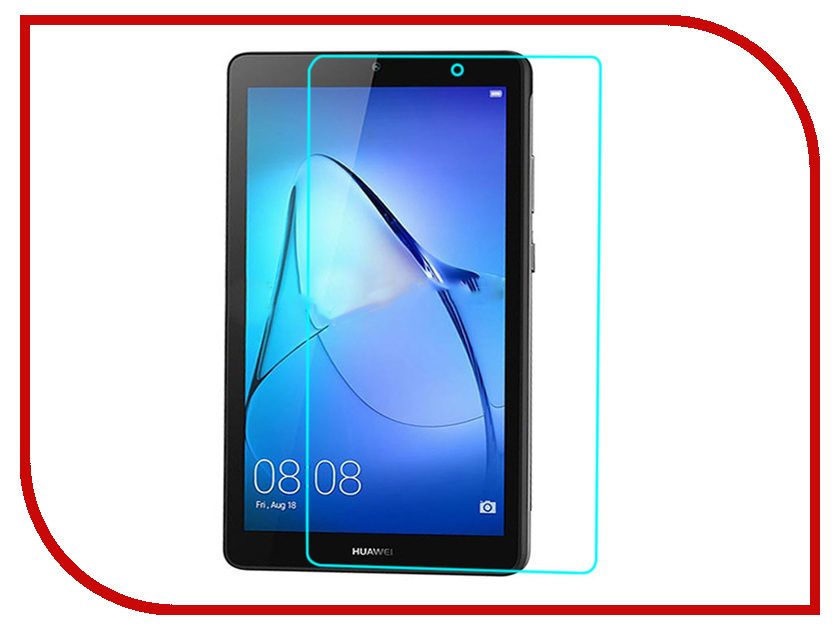 Аксессуар Защитная пленка для Huawei Mediapad T3 8.0 Red Line УТ000011612 new touch screen digitizer for alcatel onetouch p360x pop 10 tablet pc touch panel sensor glass replacement parts free shipping