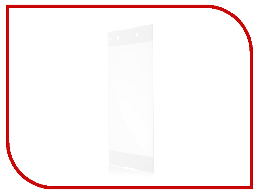 Аксессуар Защитное стекло Sony Xperia XA1 BROSCO 3D White XA1-3D-GLASS-WHITE защитное стекло interstep 3d glass для sony xperia xa1 белая рамка